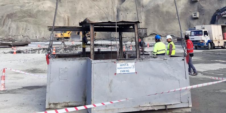 Baraj inşaatında iş kazası: 1 ölü, 3 yaralı