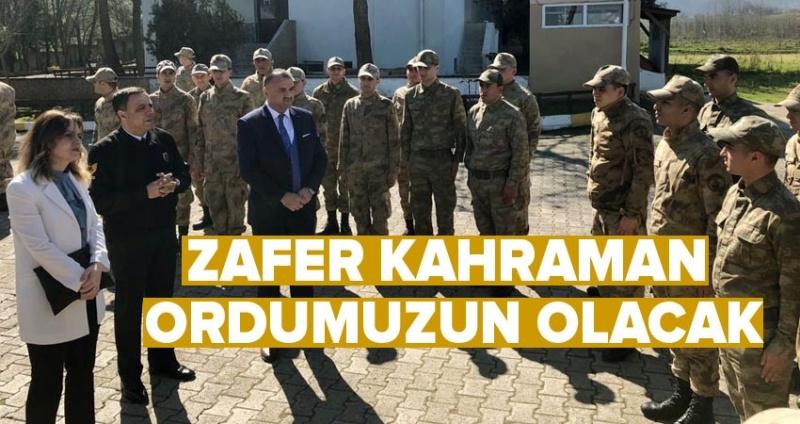 Başkan Akgül: Milletimizin duaları sizinle