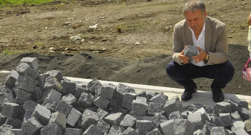 Başkan Belur projeleri yerinde inceledi