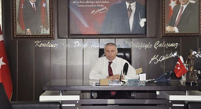 Başkan Belur'un 23 Nisan Ulusal Egemenlik ve Çocuk Bayramı mesajı