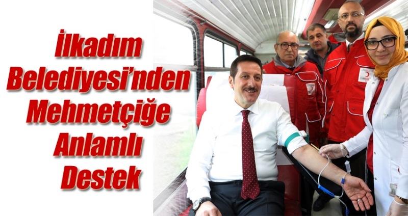 Başkan Erdoğan Tok'tan Mehmetçiğe Kan Bağışı