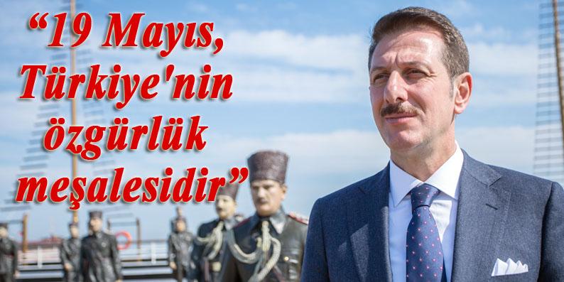 Başkan Erdoğan Tok'tan 19 Mayıs Mesajı