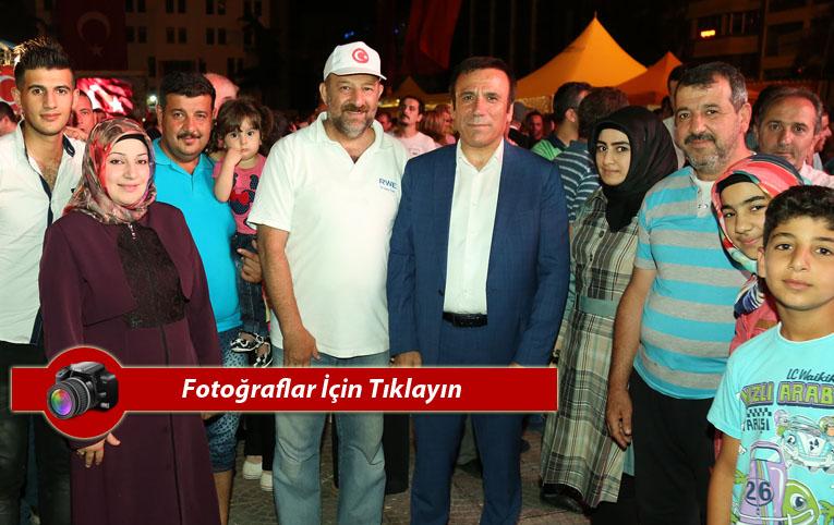 Başkan Genç: Milletimiz Türkiye'nin bileğini büktürmez