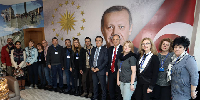 Başkan Genç'e Avrupa'dan misafir