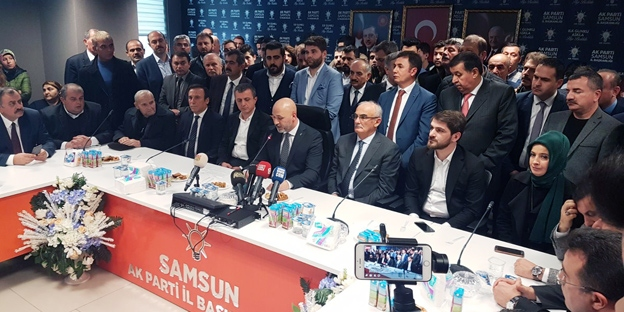 Başkan Hakan Karaduman ilk basın açıklamasını yaptı