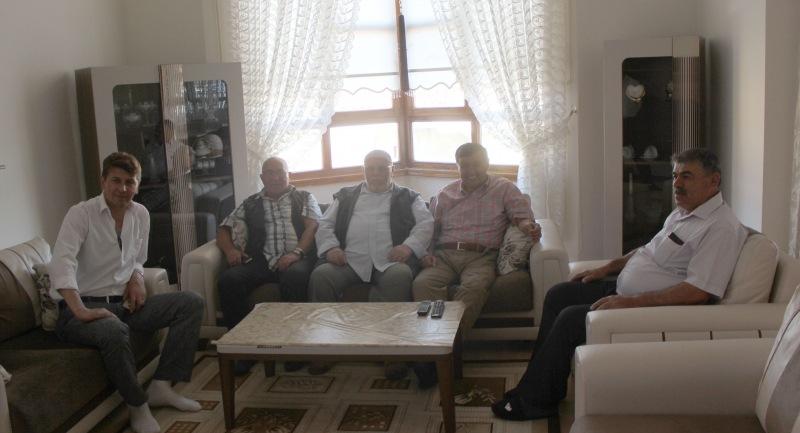 Başkan İkiz Kaplan ailesini ziyaret etti