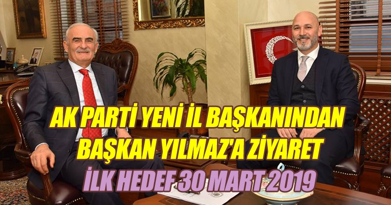 Başkan Karaduman'dan Başkan Yılmaz'a ziyaret