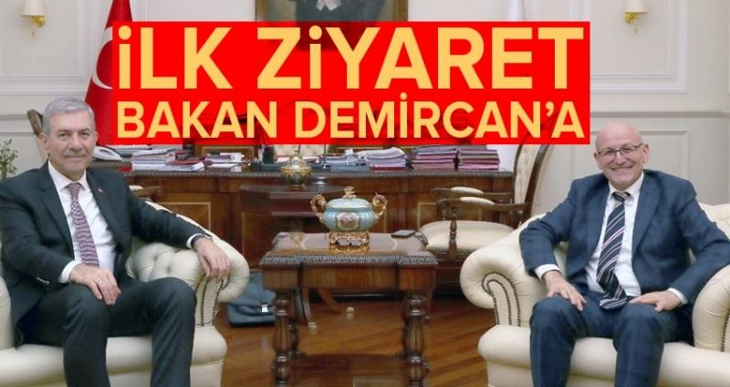 Başkan Kul Ankara'da temaslarda bulundu