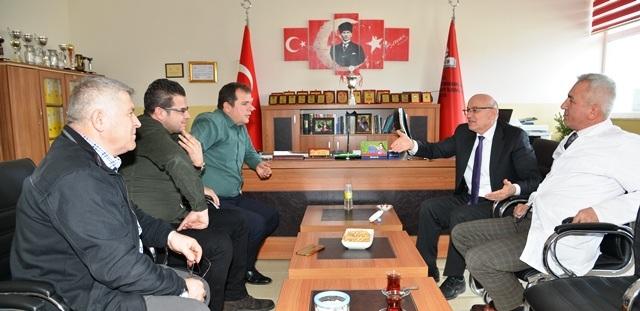 Başkan Kul okul ziyaretlerine devam ediyor