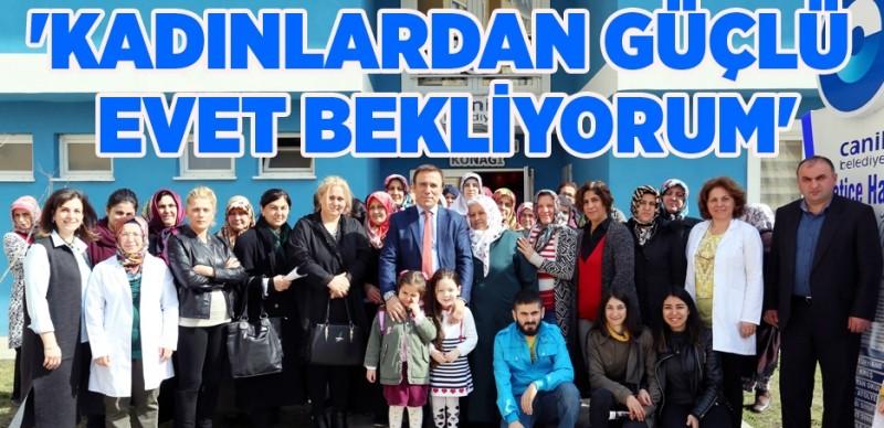Başkan Osman Genç: Gelişim güçlü hükümetle olur