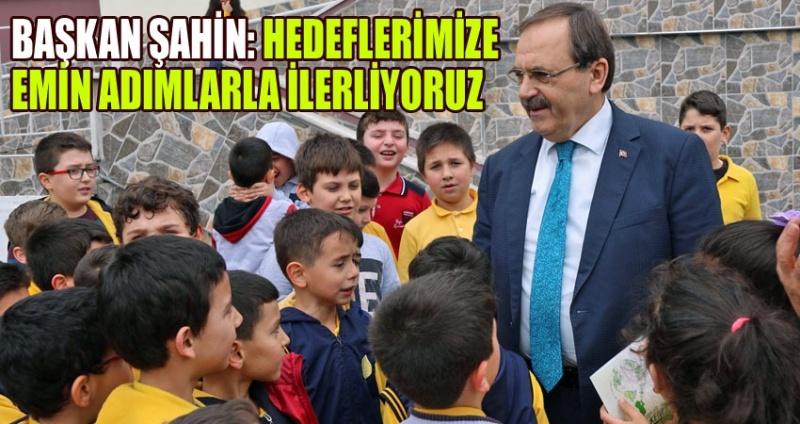 Başkan Şahin eğitimcilerle istişarelerde bulunuyor