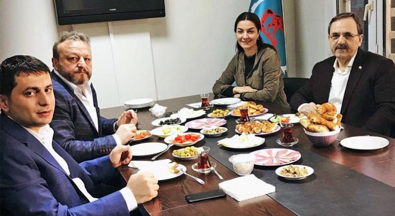 Başkan Şahin İstanbul'da hemşehrilerini ziyaret etti