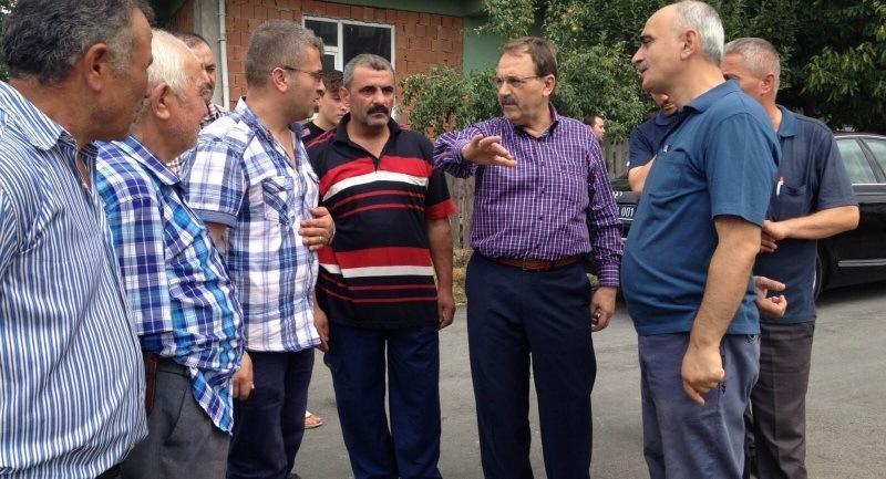 Başkan Şahin ziyaretlerine Mevlana mahallesi ile devam etti