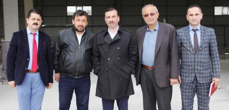 Başkan Sarıcaoğlu'ndan Kavak Sanayi Esnafına Ziyaret
