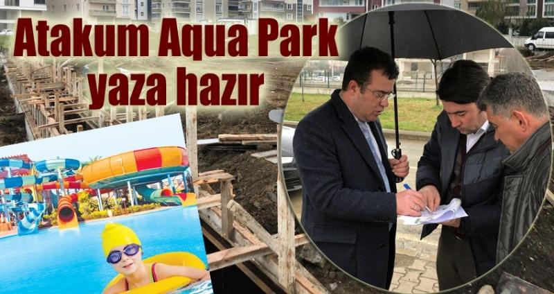 Başkan Taşçı Aqua Park inşaatını inceledi