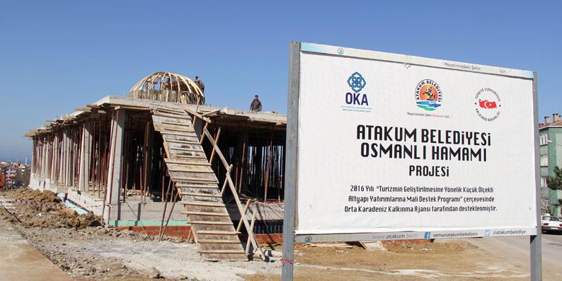 Başkan Taşçı: Atakum Osmanlı Hamamları Turizm noktası olacak