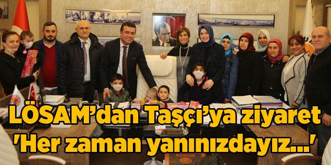 Başkan Taşçı: Lösemi tedavisinde Samsun Türkiye'nin öncüsü