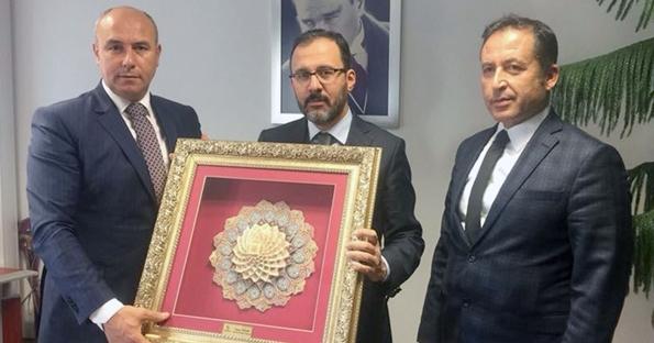 Başkan Togar Ankara'dan müjdelerle döndü