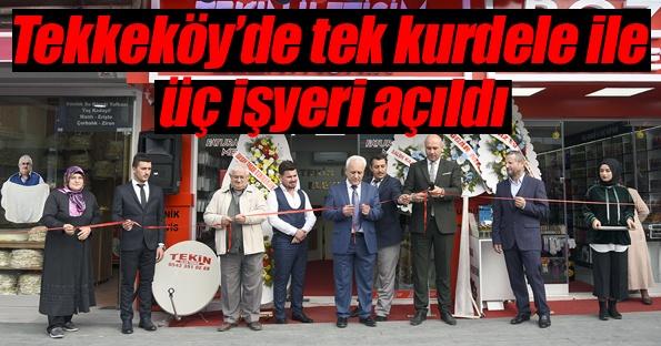 Başkan Togar bir günde üç yeni işyerinin açılışını yaptı