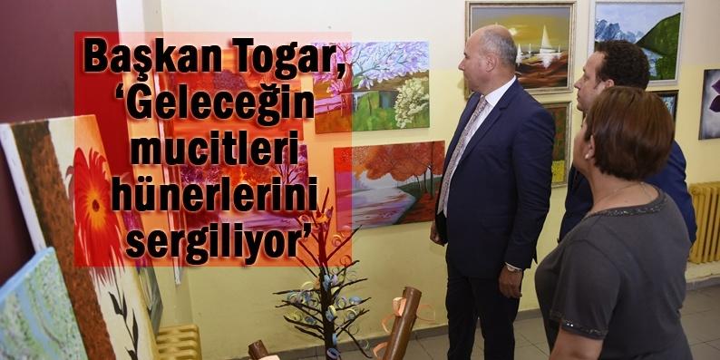 Başkan Togar: Çocuklarımızın fikirlerini destekliyoruz
