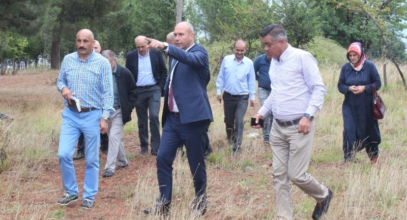Başkan Togar Meclis Üyeleri ile birlikte çalışmaları inceledi