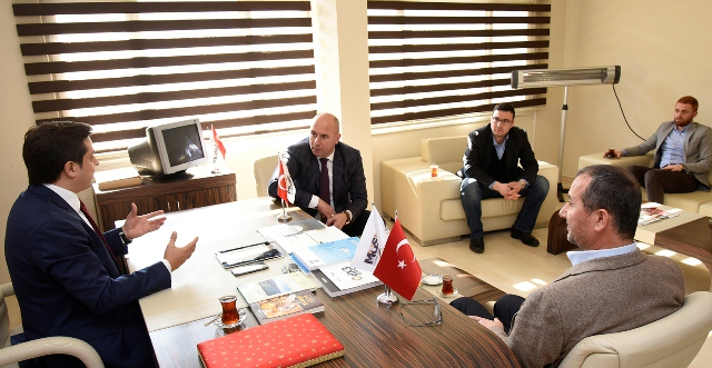 Başkan Togar MÜSİAD Başkanı Haluk Tan'ı Tebrik Etti