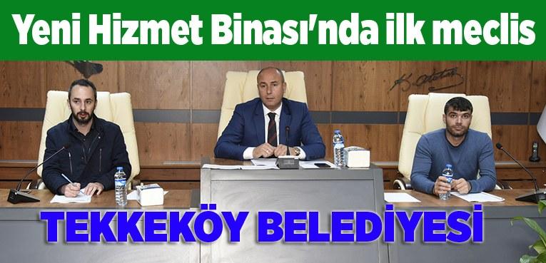 Başkan Togar Tekkeköy Belediyesi yeni hizmet binasını tanıttı!