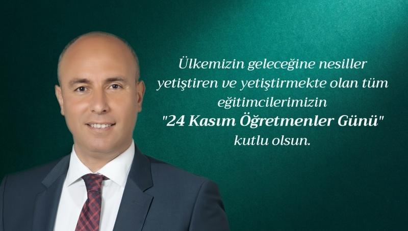 Başkan Togar'dan 24 Kasım Öğretmenleri Günü Kutlama Mesajı