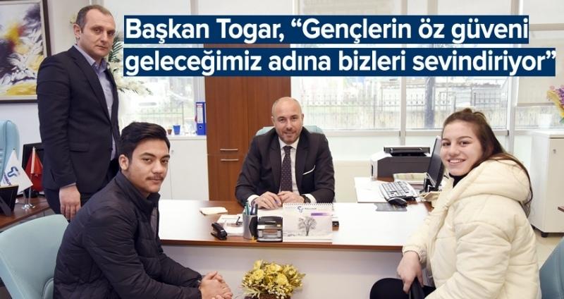 Başkan Togar'dan her talebe anında çözüm