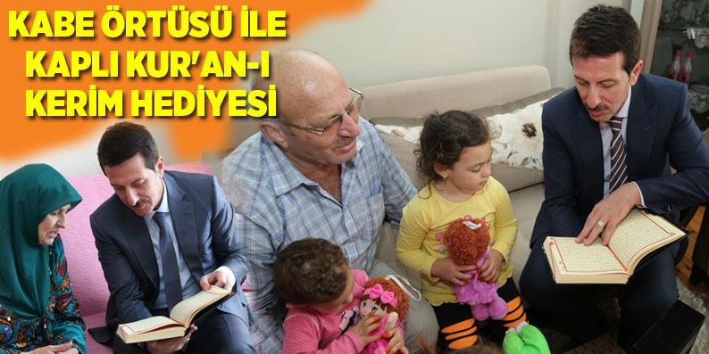 Başkan Tok'tan İlkadımlı Hacılara ziyaret