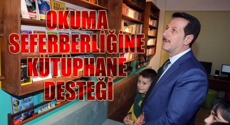 Başkan Tok'tan okuma seferberliğine tam destek