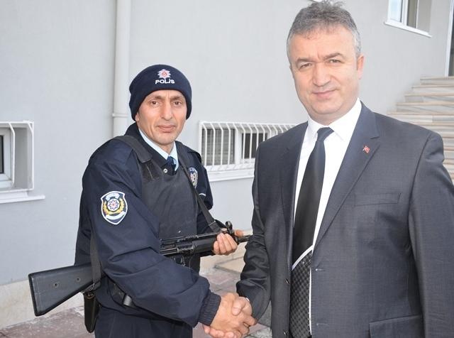 Başkan Topaloğlu: Polisimin Yanındayım Kampanyasına Destek Oldu