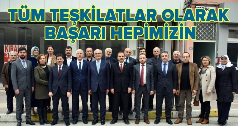 Başkan Yılmaz: AK Parti teşkilatları 2019'a hazır