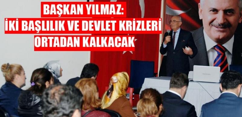 Başkan Yılmaz Diyarbakır'da ders verdi