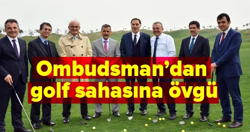 Başkan Yılmaz: Golf Sahası Haziran'da itibaren 18 çukur olacak