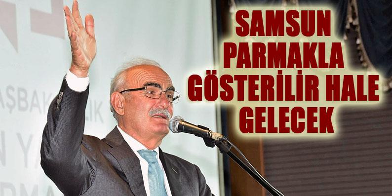 Başkan Yılmaz: Samsun'u örnek bir şehir yapacağız