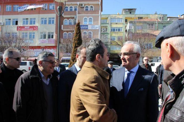 Başkan Yılmaz Tezcan ailesinin acısına ortak oldu