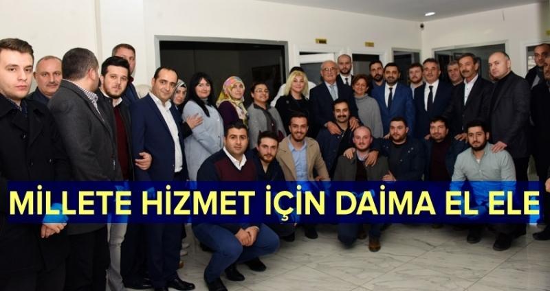 Başkan Yılmaz'dan AK Parti İlçe Yönetimi'ne ziyareti