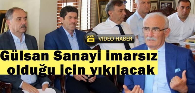 Başkan Yılmaz'dan Gülsan Sanayi Sitesi açıklaması