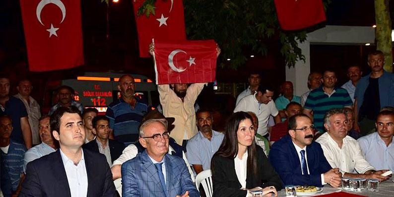 Başkan Yılmaz: Salıpazarı,Ayvacık ve Samsun'da Nöbete Katıldı