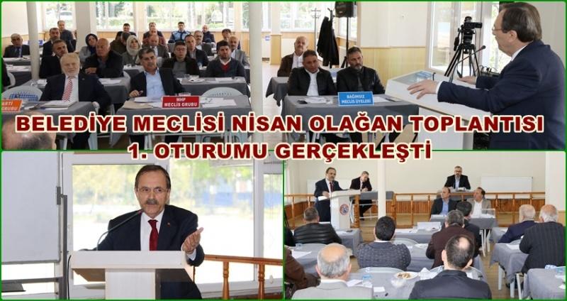 Başkan Zihni Şahin belediye meclisinde konuştu