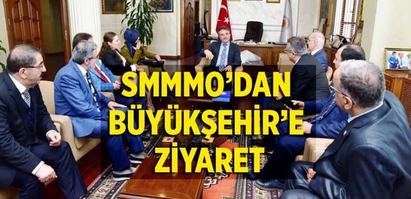 Başkanvekili Çakır SMMMO üyelerini ağırladı