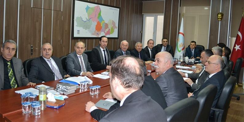 'Birlikte Üretim Projesi' Bilgilendirme Toplantısı Gerçekleştirildi