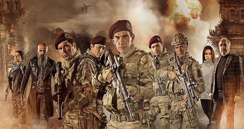 Bordo Bereliler 2: Afrin filminin afişi yayınlandı!