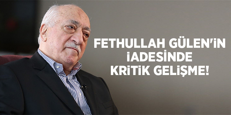 Bozdağ, Fethullah Gülen'inb geçici tutuklama talebini ABD'ye iletecek