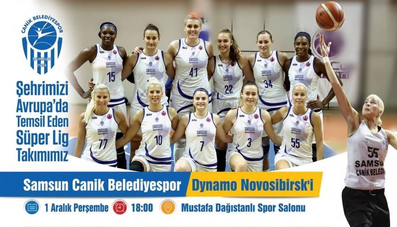 Bu maç kaçmaz... Canik, Rus ekibi Dynamo Novosibirsk'i ağırlıyor