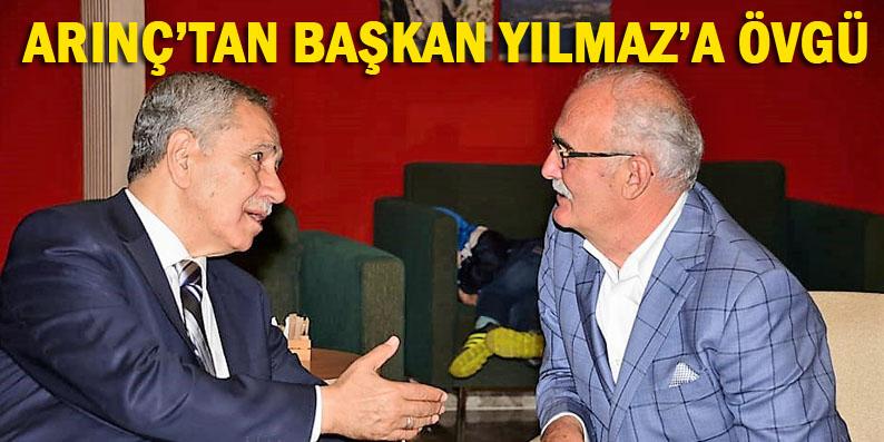 Bülent Arınç otel açılışı için Samsun'a geldi