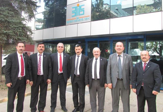 Büro Memur-Sen Samsun Şubesi Ankara'da