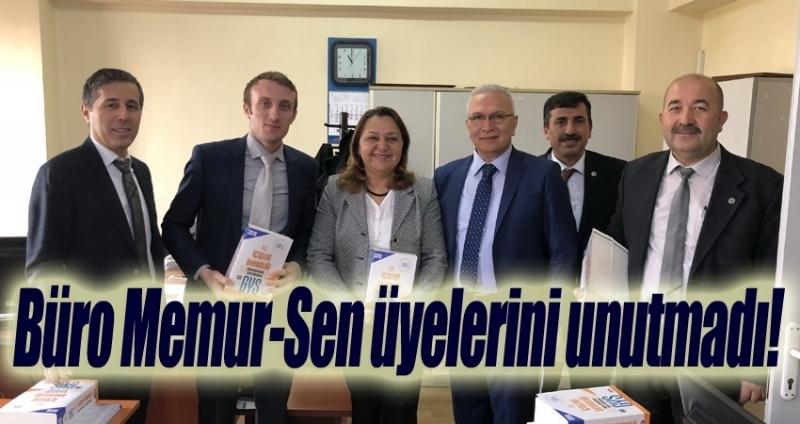 Büro Memur-Sen'sen üyelerine büyük hizmet