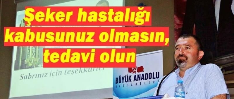 Büyük Anadolu Hastaneleri'nden Sinop'ta sağlık konferansı